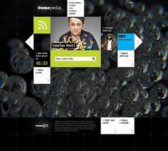 FameLab on the Behance Network #grid #design #web