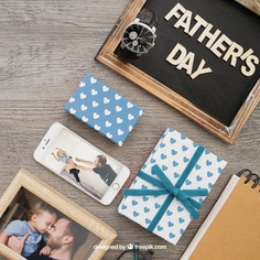 Father's day composition with chalkboard and frame Free Psd. See more inspiration related to Frame, Mockup, Love, Gift, Family, Box, Gift box, Mobile, Blackboard, Celebration, Happy, Gift card, Smartphone, Present, Chalkboard, Mock up, Father, Fathers day, Celebrate, Happy family, Dad, Parents, Up, Day, Lovely, Greeting, Male, Objects, Daddy, Things, Composition, Mock, Fathers, June, Masculine, Familiar and Nineteen on Freepik.