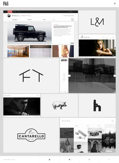 R&Co. Website http://r-ny.com/ #design #web