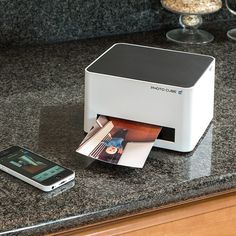WiFi Photo Cube Printer #tech #flow #gadget #gift #ideas #cool