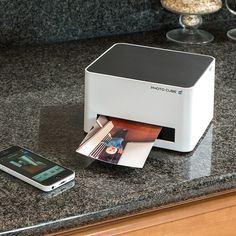 WiFi Photo Cube Printer #tech #flow #gadget #gift #ideas #cool