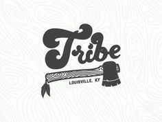 Dribbble - Tribe tee Concept by Nick Slater #nick #tribe #slater #hatchet #logo