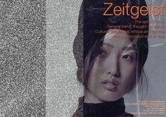 Zeitgeist | Volt Café | by Volt Magazine #beauty #design #graphic #volt #photography #art #fashion #layout #magazine #typography