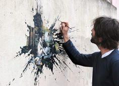 Vandal-ism, Rue Edouard Manet Paris 13 #artwork #streetart