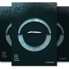 Imaginary Travel Ad Campaign for The World on Behance - Antarctica Poster