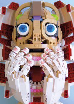 Lego face #lego