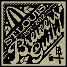 St. Louis Brewers Guild Logo #brewery #beer #coaster #branding