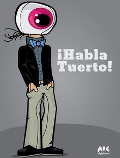 Habla Tuerto on the Behance Network #vector #alektro #ecuador