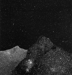Rachel Prouty #illusion #escape #space #landscape #moon