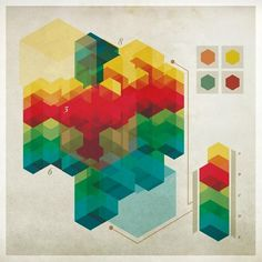 Nonsensical Infographics - Chad Hagen | Art Design | 49433 | Wookmark #infographic #geometric