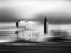 Expressionistic Black and White Architecture Photography by Neda Vent Fischer