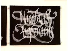 Art › Yomar Augusto #ink #white #black #art #caligraphy