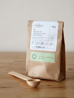 gardens&co. #packaging #print #craft #coffee #paper