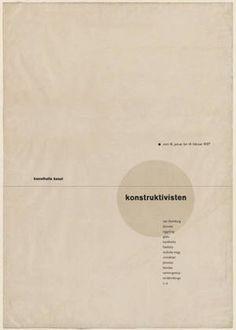 MoMA | The Collection | Jan Tschichold. Die Konstruktivisten (The Constructivists). 1937
