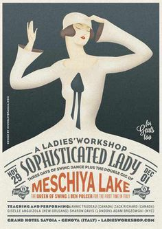 #poster #vintage #retro #lindyhop #swing #micheletenaglia