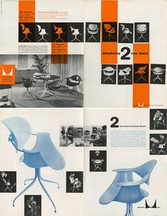 Vintage Herman Miller MAA Brochure George Nelson (via Matte Stephens) #furniture