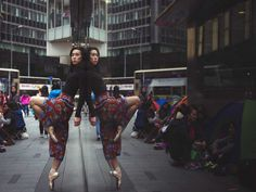 Hong Kong's Playground: Omar Z. Robles Captures Ballet Dancers in the Streets of Hong Kong