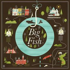 Big Fish Art Print by Brad woodard | Society6