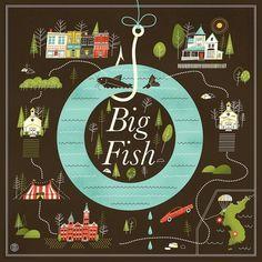 Big Fish Art Print by Brad woodard | Society6