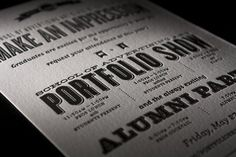 FFFFOUND! | 02.jpg #invitation #portfolio #letterpress #saa #type #typography