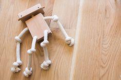 #wood #toy #robot