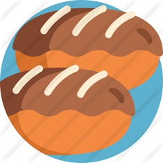 See more icon inspiration related to eclair, food and restaurant, dessert, bakery, chocolate, cream, sweet and food on Flaticon.