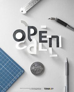 Making the cut: Behance Reviews Manila OPEN CALL Poster