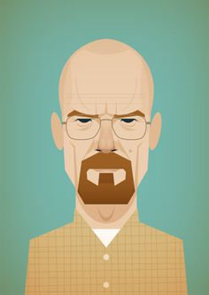 HEISENBERG! #illustration #breaking #bad