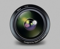 Aperture replacement icon psd Free Psd. See more inspiration related to Icon, Camera, Apple, Clean, Psd, Lens, Camera icon, Camera lens, Aperture, Horizontal and Replacement on Freepik.