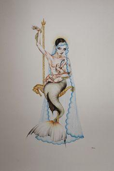 Ana Verana / #watercolour #art
