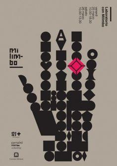 AIAP | Notizie | Libreria 121+ / workshop con Milimbo #corraini #milano #milimbo #poster