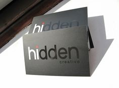Hidden Creative Business cards #cards #business