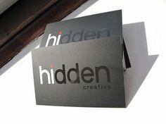Hidden Creative Business cards