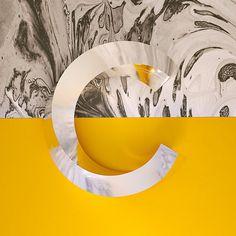 Chrome Type by Aaron Kaufman