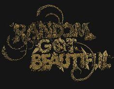 Random Got Beautiful on the Behance Network #illustration #penink