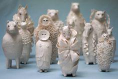 characters, ceramics, Sophie Woodrow