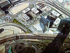 Think Picture - Dubai from the Burj Khalifa, 2011 Bronica ETRS,...