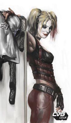 "The making of ""Batman: Arkham City"" Angry Web #harley #quinn #batman"