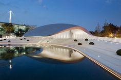 Porsche Pavilion (1) #porche #pavilion #cars #architecture