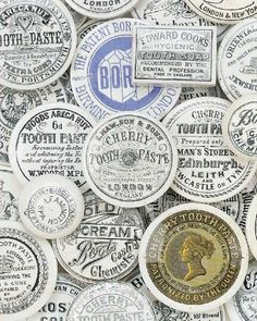 Typeverything.com @typeverything  Antique lids. More here.Via Letterology #typography