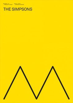 Print-Process / Product / The Simpsons #modernism #poster #exergian
