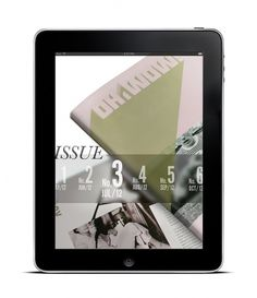 OH WOW! - Stephanie Hurtado #ipad #design #publication #layout #magazine #typography