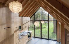 Recreation house Utrecht -HomeWorldDesign (1) #netherlands #recreational #retreat #architecture #green