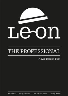 Leon the professional #logotype #lon #portman #lando #design #leon #der #reno #the #mathilda #corporate #professional #natalie #cleaner #profi #film #type #killer #montana #jean