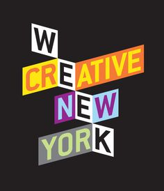CREATIVE WEEK NEW YORK mattluckhurst.com #print #poster