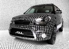 KIA Art Car on the Behance Network #greatness #design #car #sagmeister&walsh