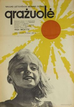 Baltic states of mind: a gallery of Lithuanian film posters | Film | guardian.co.uk #yellow #red #poster