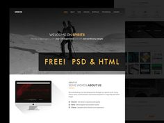 Spirit8 : Free Responsive HTML Template