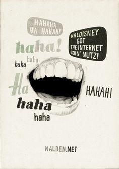 haha! | Denise van Leeuwen #illustration