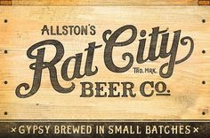 Rat City Beer Co. - CommonerInc #logo